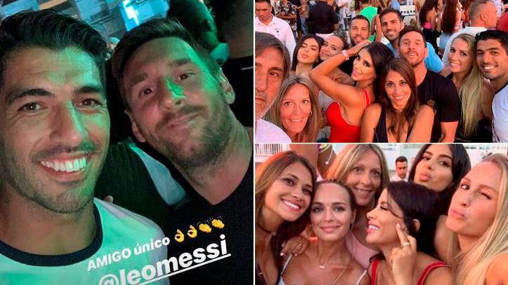 3135a8f7244b Así han sido las últimas horas de Leo Messi y Luis Suárez en Ibiza ...
