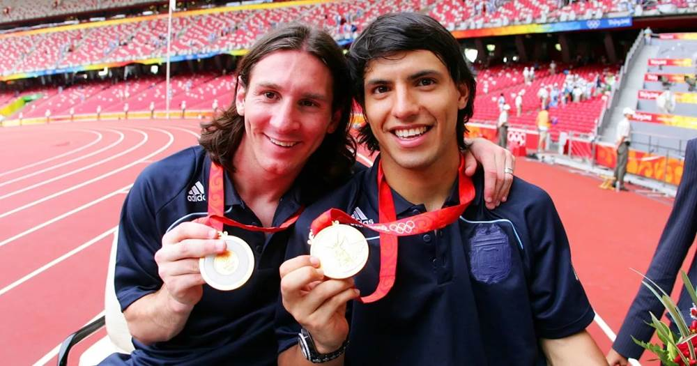 Image result for messi olympic medal