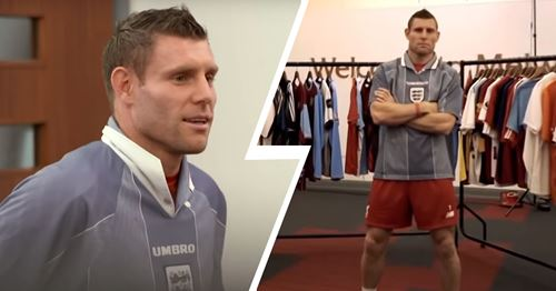 Milner takes a trip down memory lane with some iconic jerseys (video)