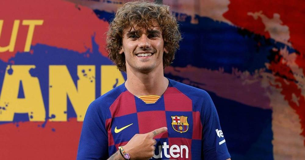 huge selection of f8b26 f59b1 Griezmann explains why he didn't take his favourite No.7 ...