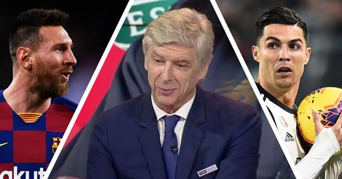 Arsene Wenger recalls missing out on signing Lionel Messi and Cristiano Ronaldo (video)