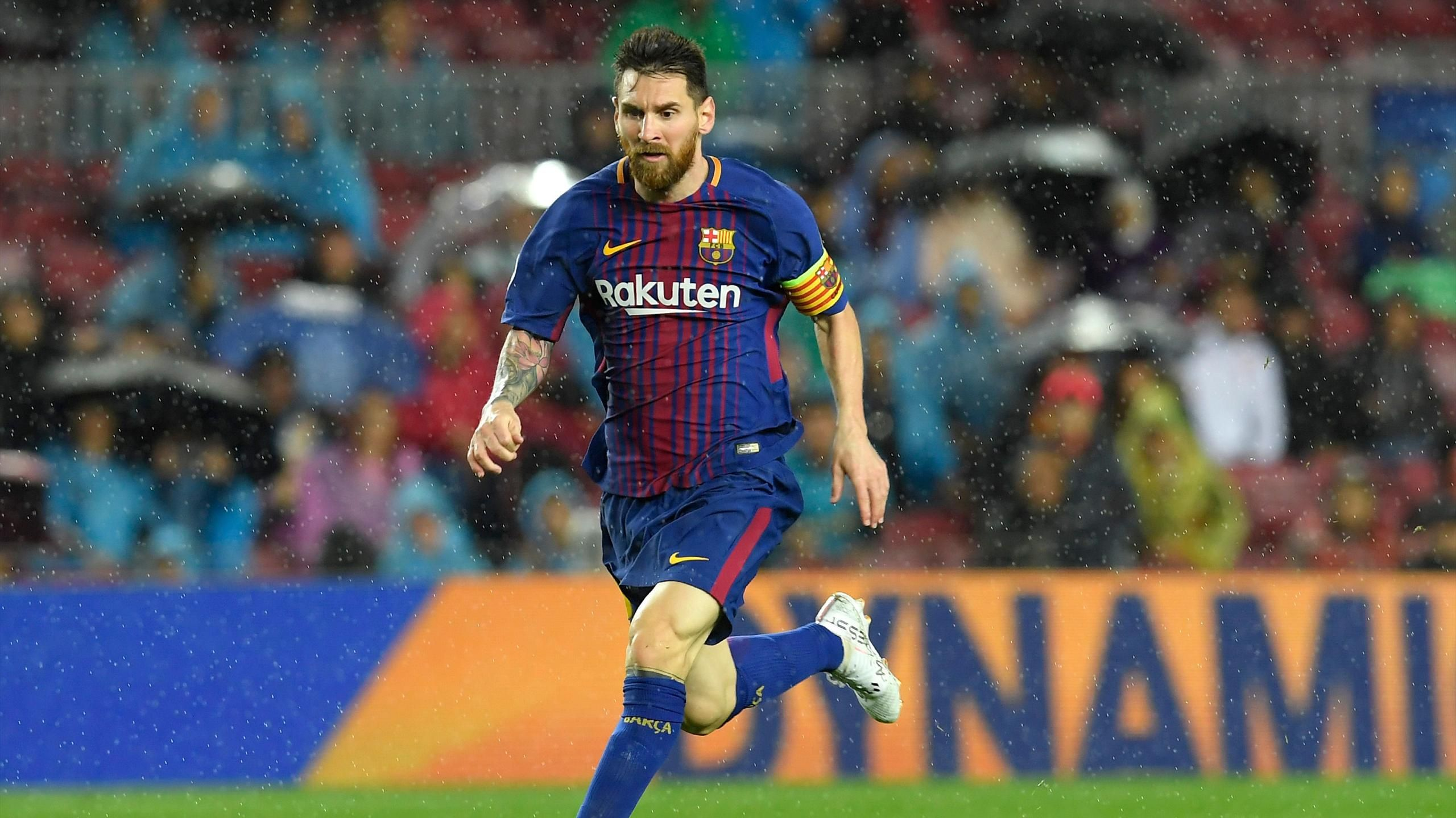 Lionel Messi for Barcelona in LaLiga this calendar year