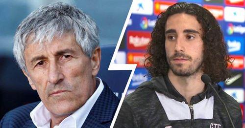 """Ex-Barca-Spieler Cucurella antwortet Setien: """"Jedes Team benutzt seine eigenen Waffen, um zu gewinnen"""""""
